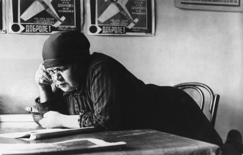 Alexander Rodchenko (1891-1956). Portrait of Mother, 1924. This is one of the first Rodchenko's photographs, a compelling portrait of his mother who learnt how to read in her late years.
