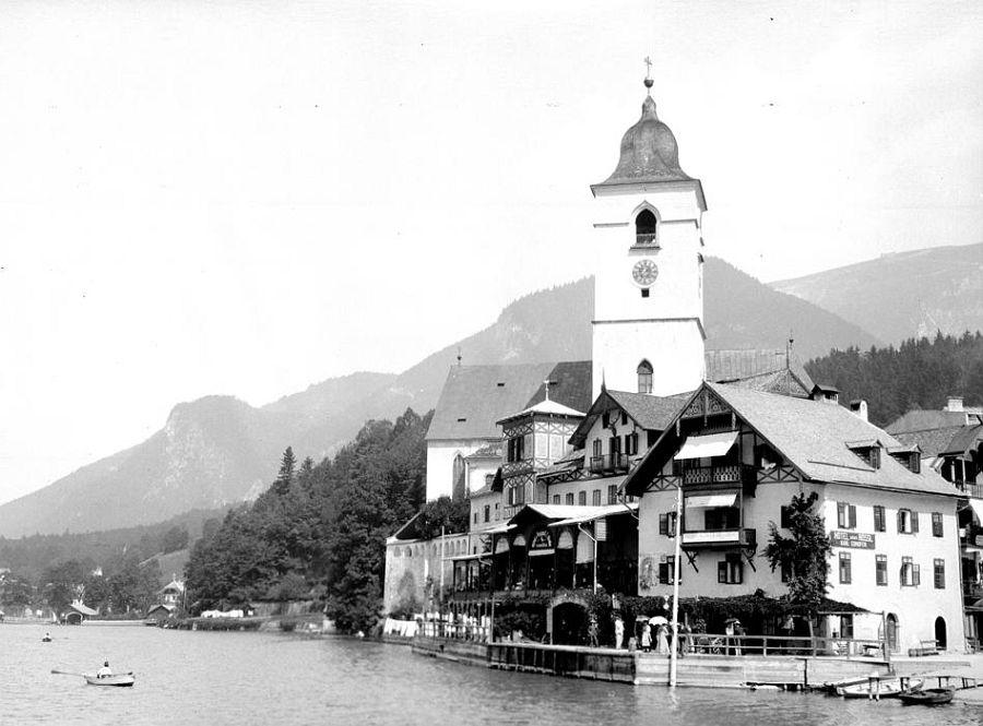 Hotel Weisses Rössl, St. Wolfgang, Upper Austria