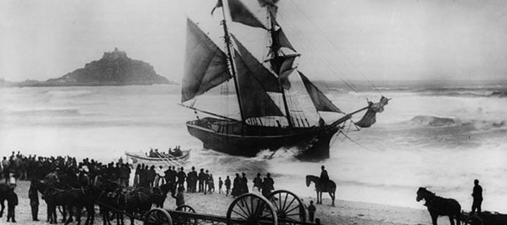 Vintage: Shipwrecks from Isles of Scilly (Late 19th and Early 20th Centuries)