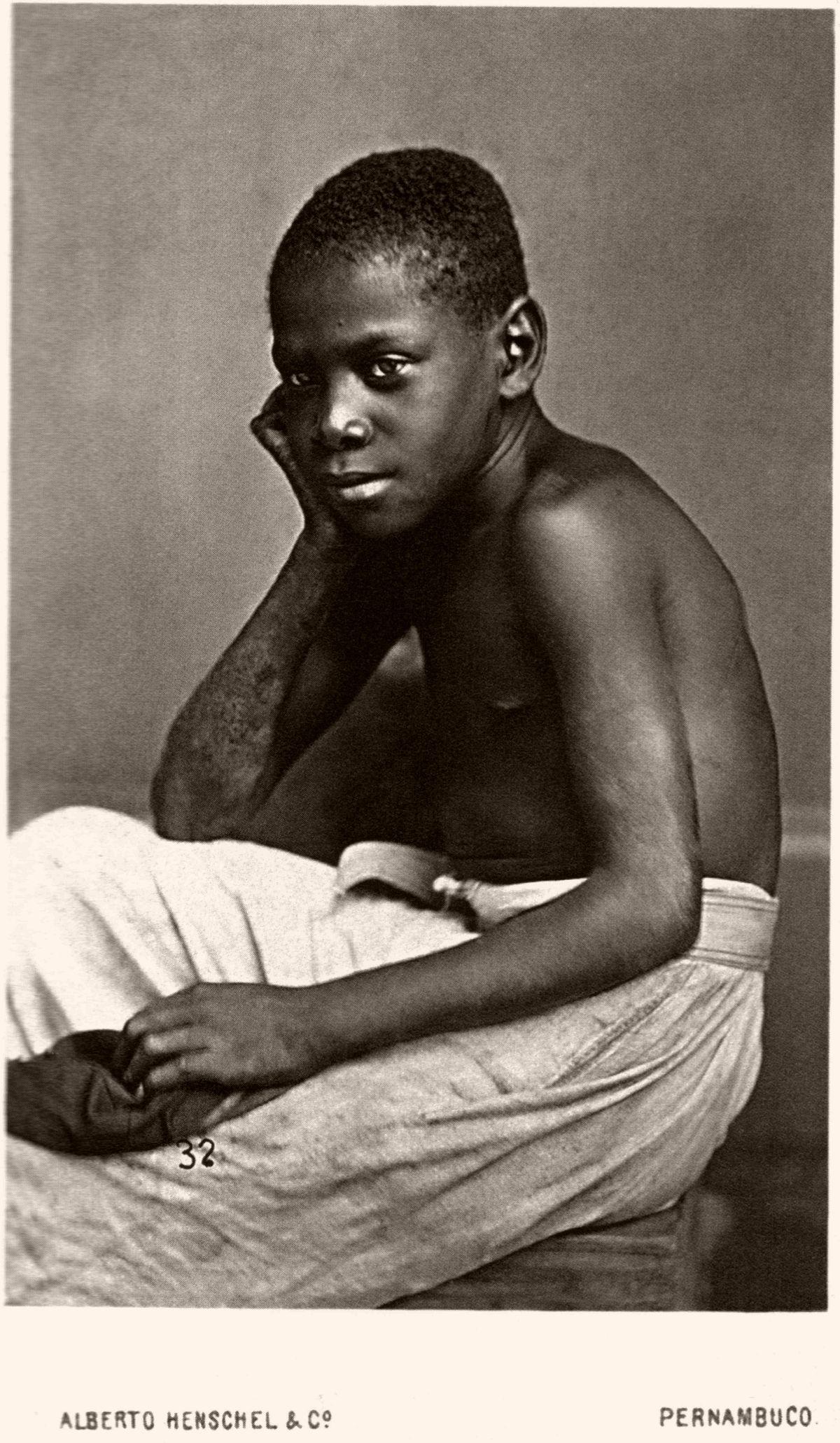 Criança em Pernambuco. 1870