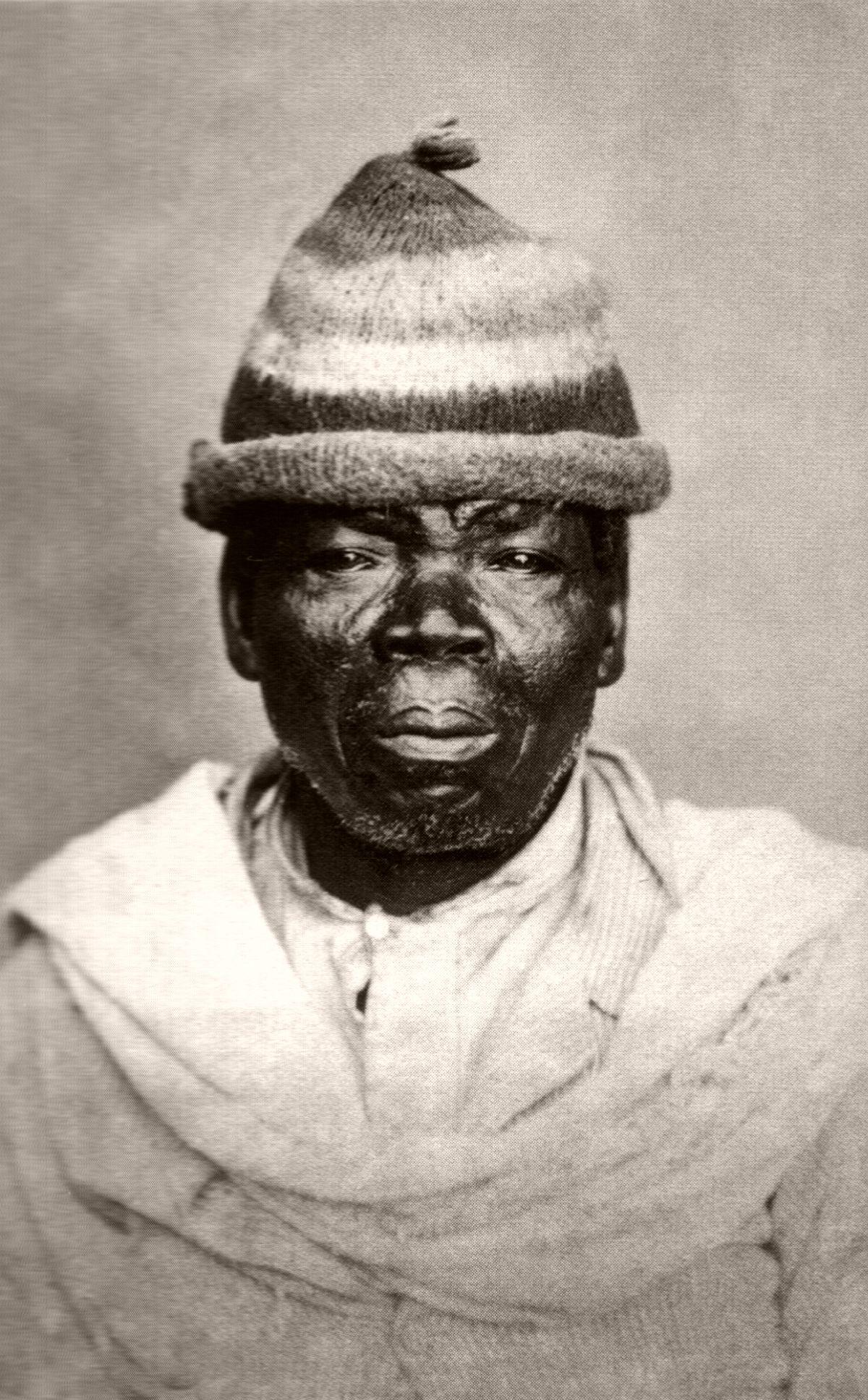 Foto de negro ancião. 1870
