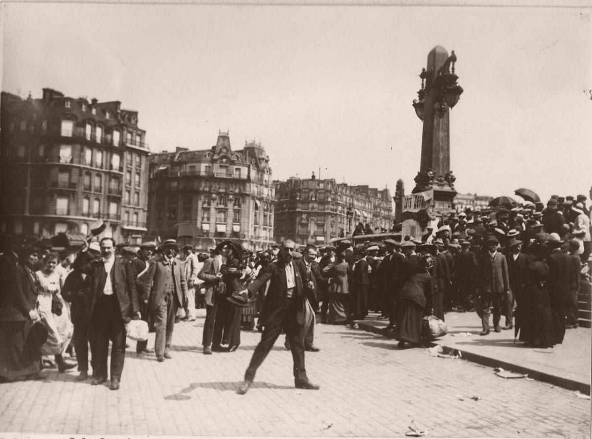 1914. Gare de Lyon.