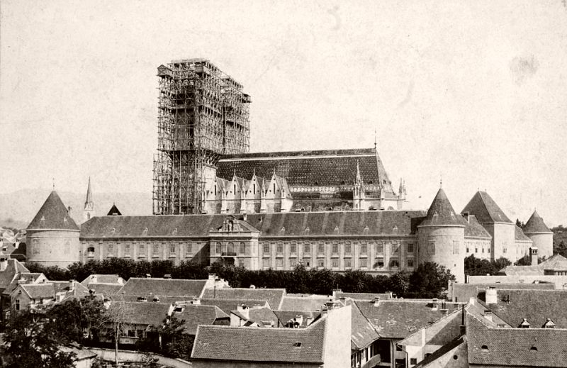 Reconstruction of the Zagreb Cathedral, 1894.