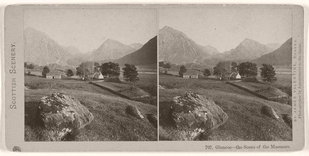 Glencoe - the Scene of the Massacre, 1870s.