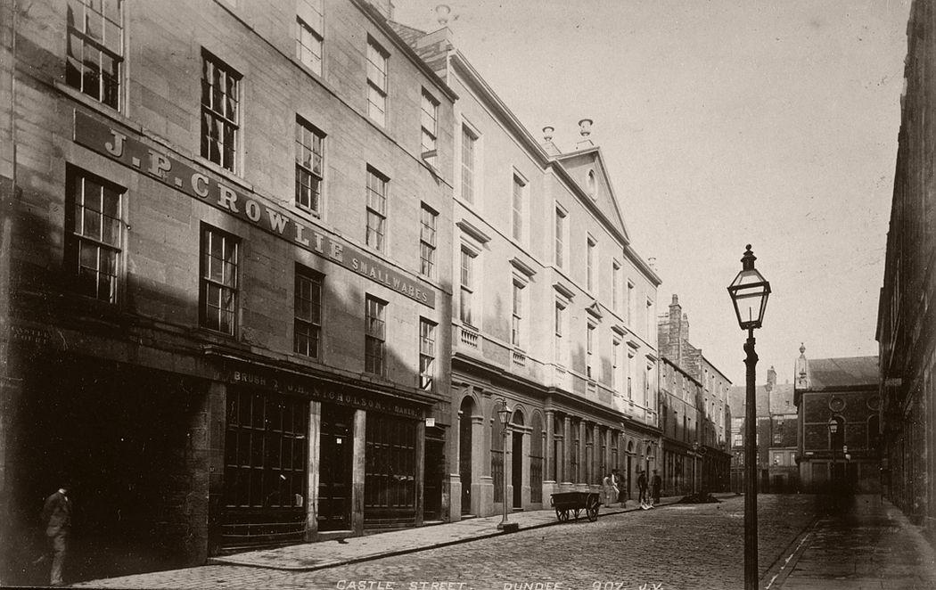 Castle Street, Dundee, 1876.