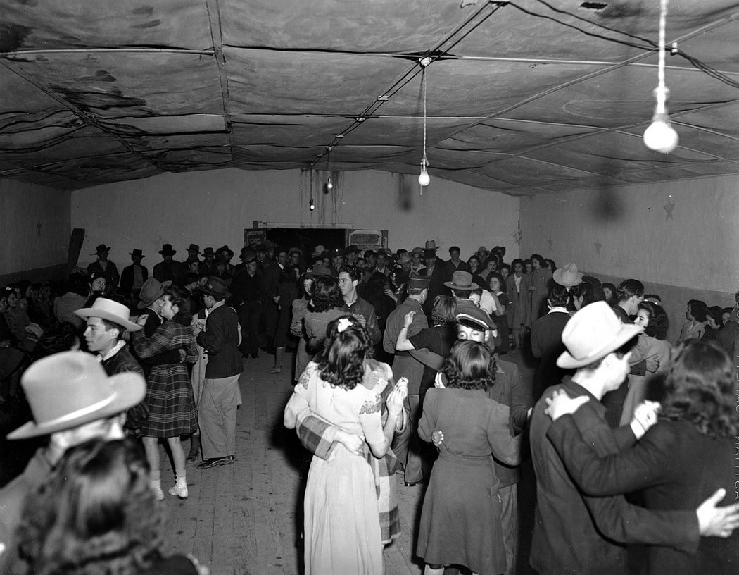A dance, Peñasco, New Mexico, 1943