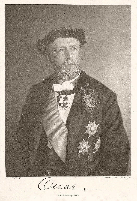 King Oscar II in 1893.