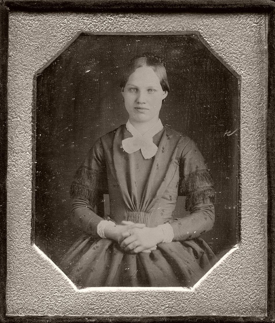 Daguerreotype, circa 1850s. Photo by Marcus Aurelius Root
