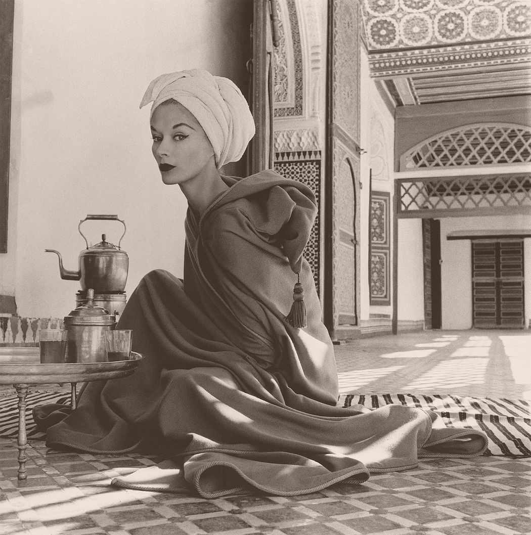 Woman in Palace, Marrakech, Morocco, 1951 by Irving Penn