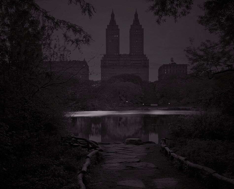 Night Fall, The Ramble. Central Park, New York City. 2017.