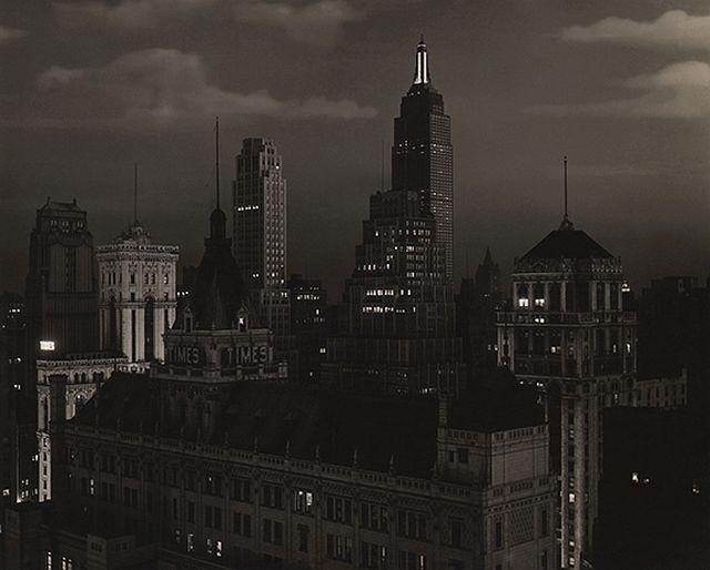 Paul J. Woolf, Times Building Looking South, c. 1935