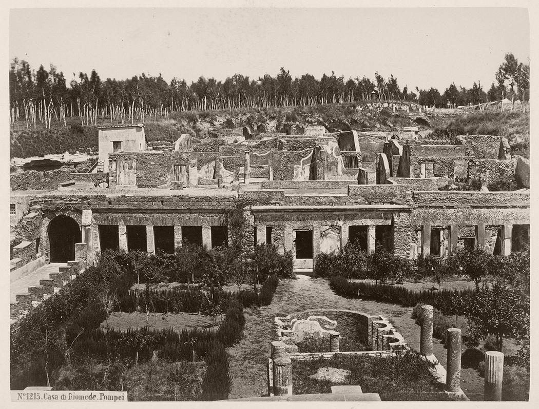 Casa di Diomede. Pompei, 1855 - 1865.