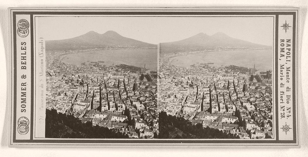 Panorama da S. Martino (Napoli), 1860 - 1872.