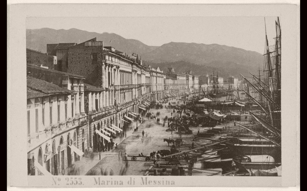 Marina di Messina, ebruary 23, 1867.