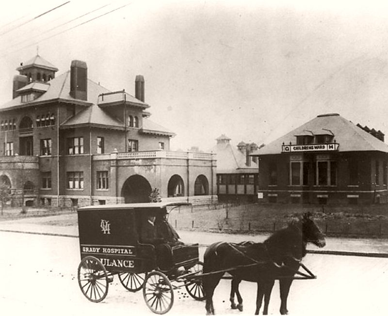 Atlanta's Grady Hospital on May 25, 1892