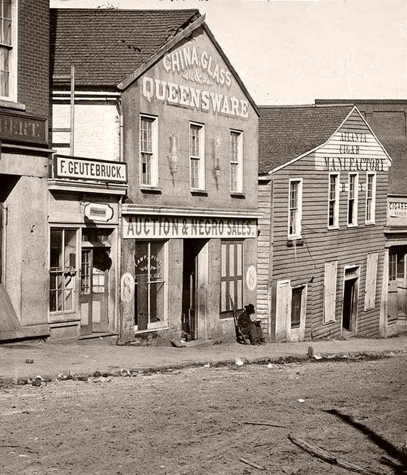 Vintage Everyday Life Of Atlanta Georgia 19th Century