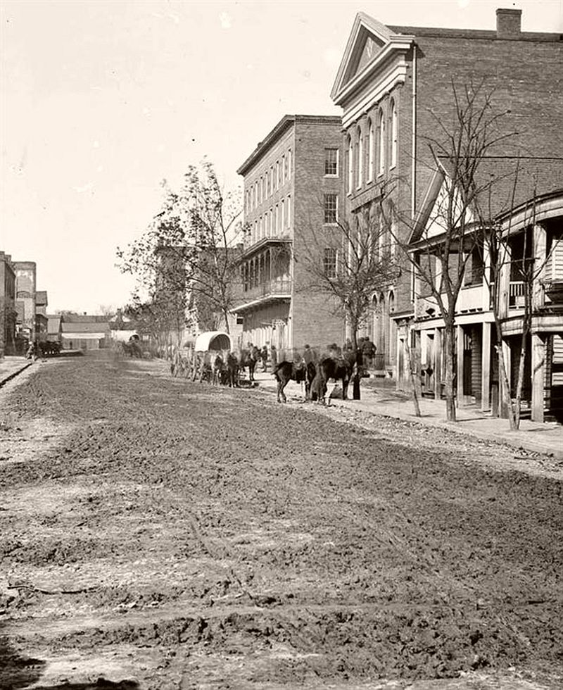 Decatur Street, Atlanta, Georgia, 1864