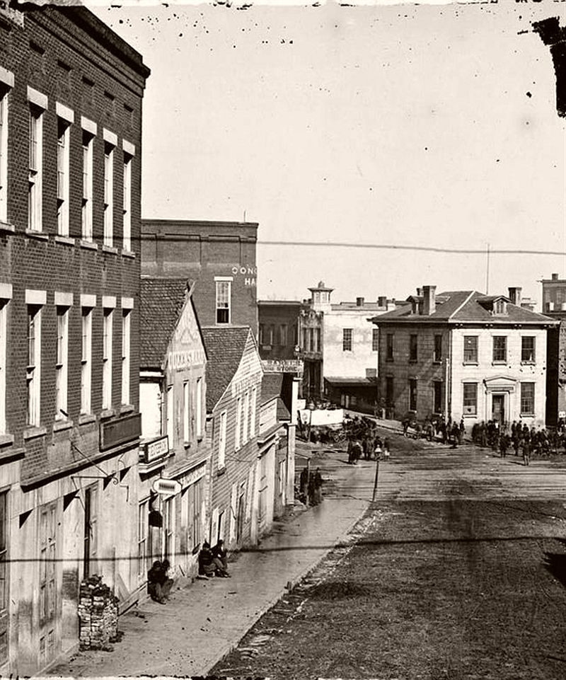 Whitehall Street, Atlanta, Georgia, ca. 1860s