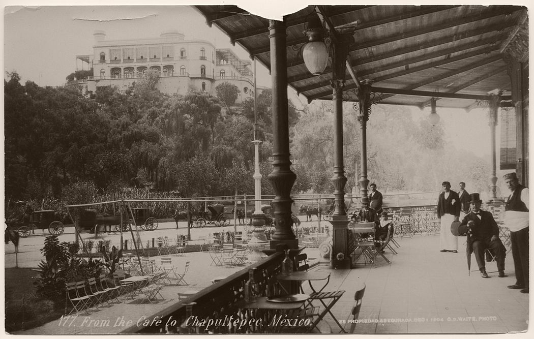 From the Cafe to Chapultepec, 1904
