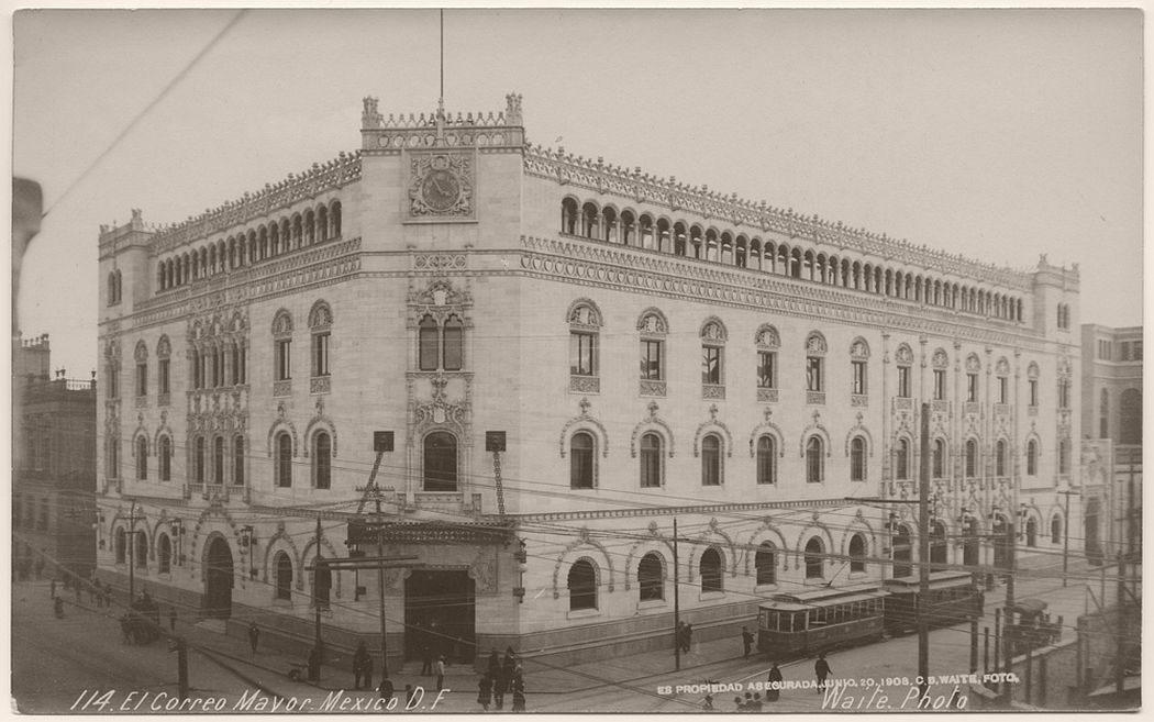 El Correo Mayor, City of Mexico, 1908