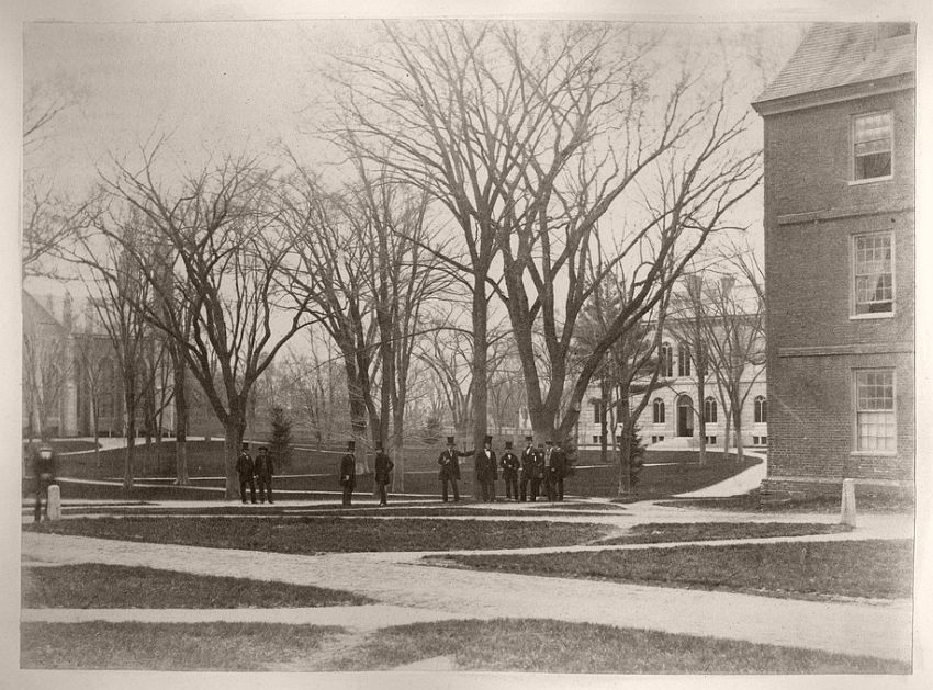 Class Day Tree, 1855-65