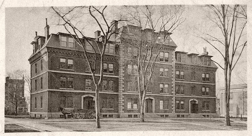 Gray's Hall, 1855-65