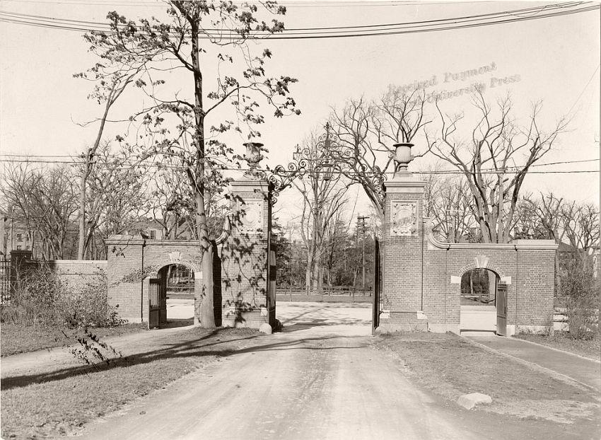 Harvard College Arch, 1887