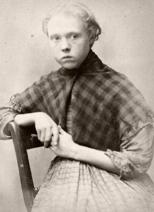 Mary Hinnigan: 13. Mary was caught stealing iron and was sentenced to do 7 days hard labour.