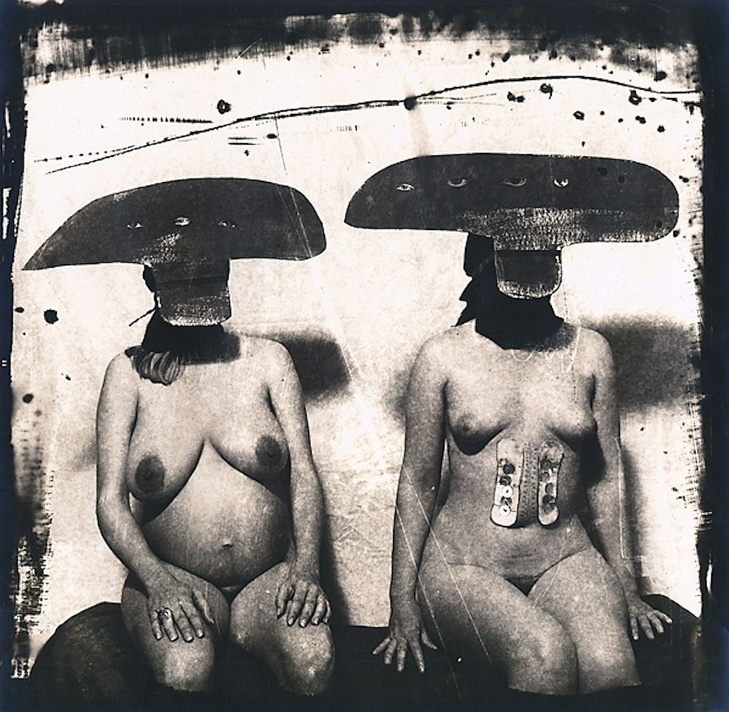 Joel Peter Witikin, I.D. Photograph from Purgatory, Two Women, 1982