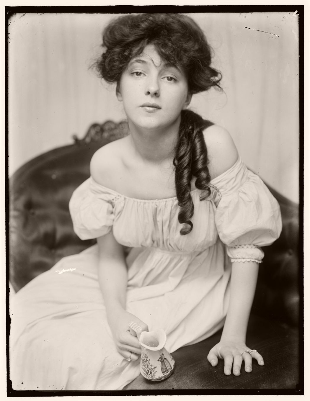 Miss N (Portrait of Evelyn Nesbit), 1903 by Gertrude Käsebier