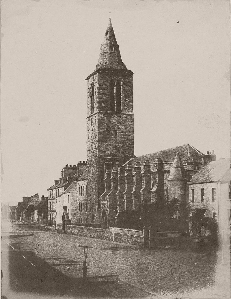 The College Church, St Andrews, 1843