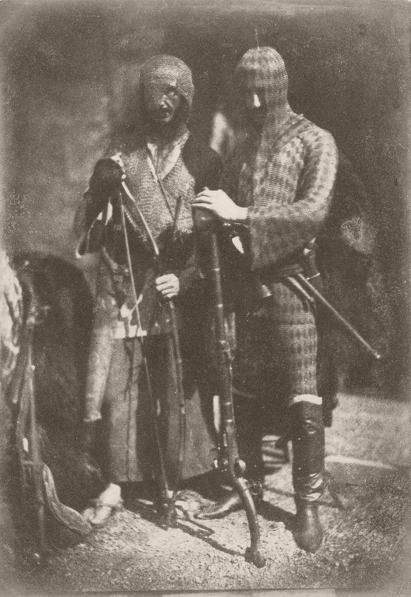 Lane and Peddie as Afghans, 1843