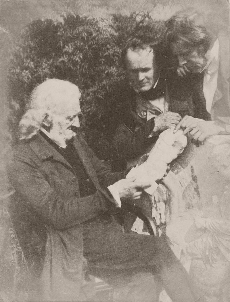John Henning, Alexander Handyside Ritchie and D.O.Hill, 1843