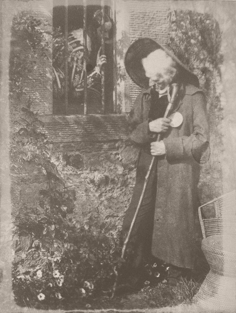 "Mrs. Elizabeth Cockburn Cleghorn and John Henning as Miss Wardour and Eddie Ochiltree from Sir Walter Scott's ""The Antiquary"", 1843"