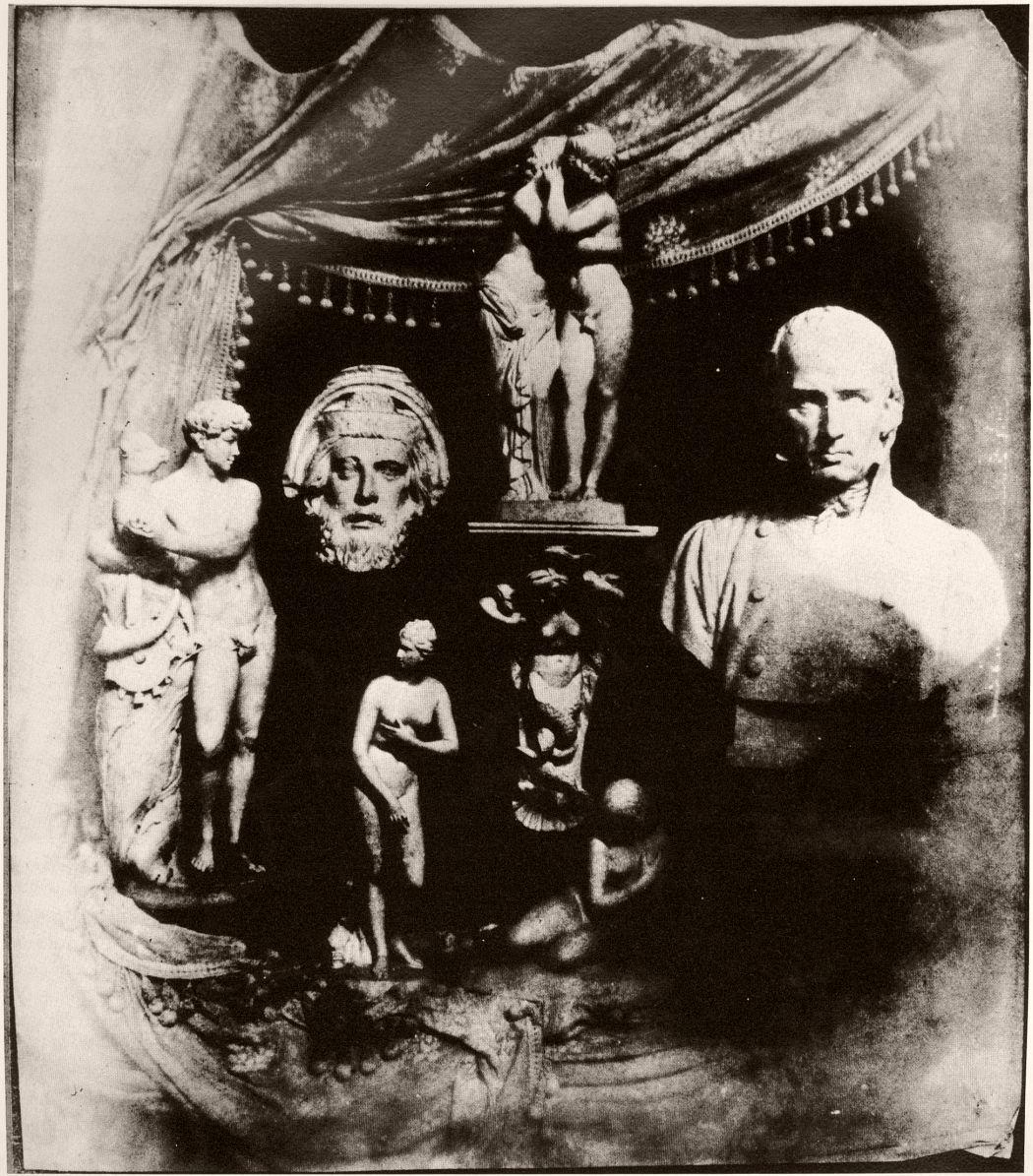 Still life with plaster casts circa 1839