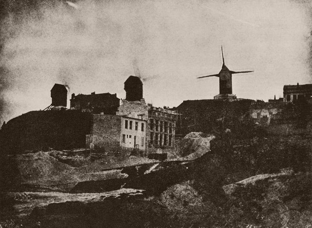 Windmills, Montmartre c.1842