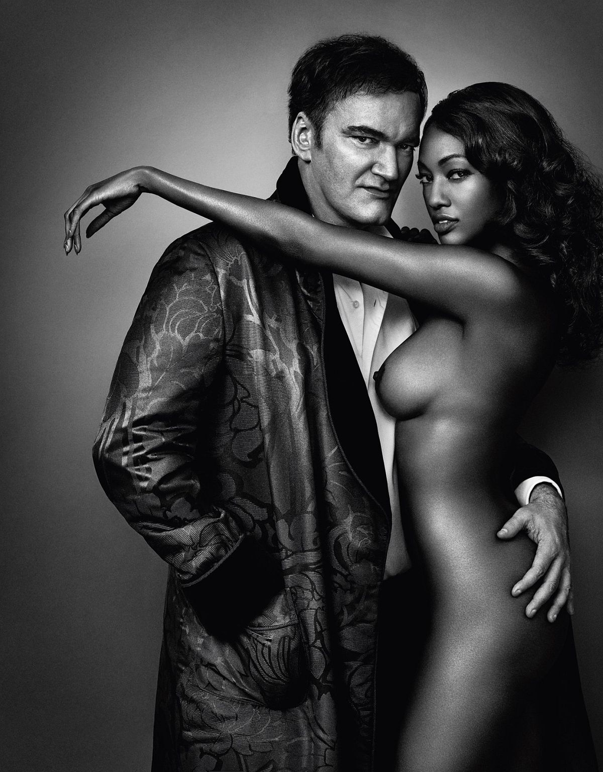 © Profiles by Marc Hom, published by teNeues, www.teneues.com, Quentin Tarantino and Nichole Galicia, Photo © 2016 Marc Hom