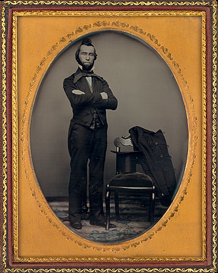 American 19th Century, Portrait of a Man, c. 1850, daguerreotype, National Gallery of Art, Washington, Robert B. Menschel and the Vital Projects Fund and Pepita Milmore Memorial Fund