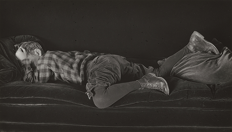 Edward Weston, Neil – Asleep, 1925, gelatin silver print, National Gallery of Art, Washington, Promised Gift of Robert B. Menschel