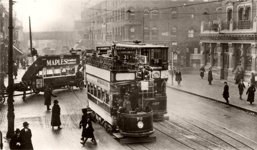 Seven Sisters Road, 1922.