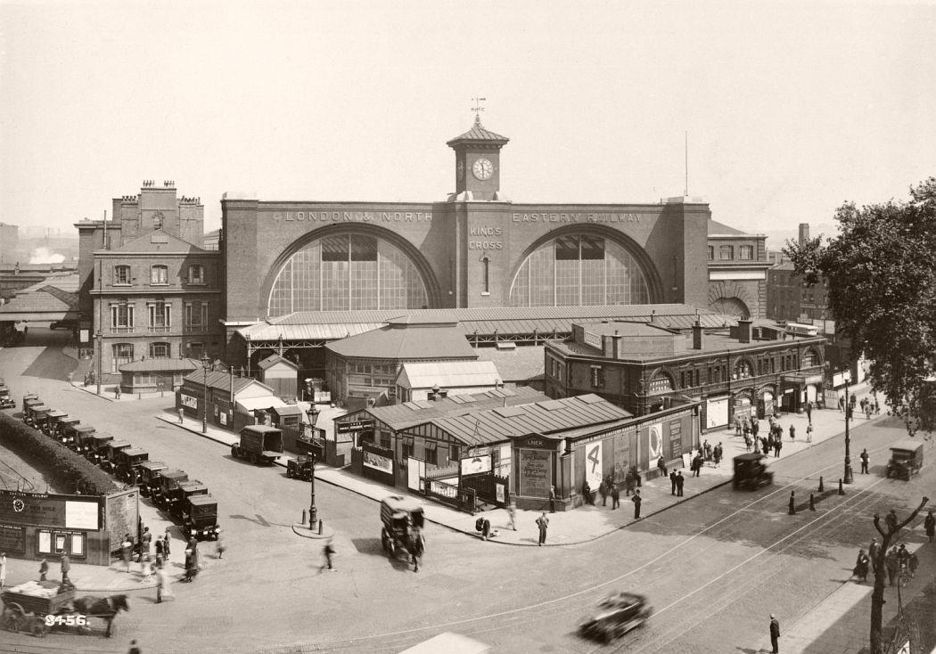 King's Cross Station, 1927.