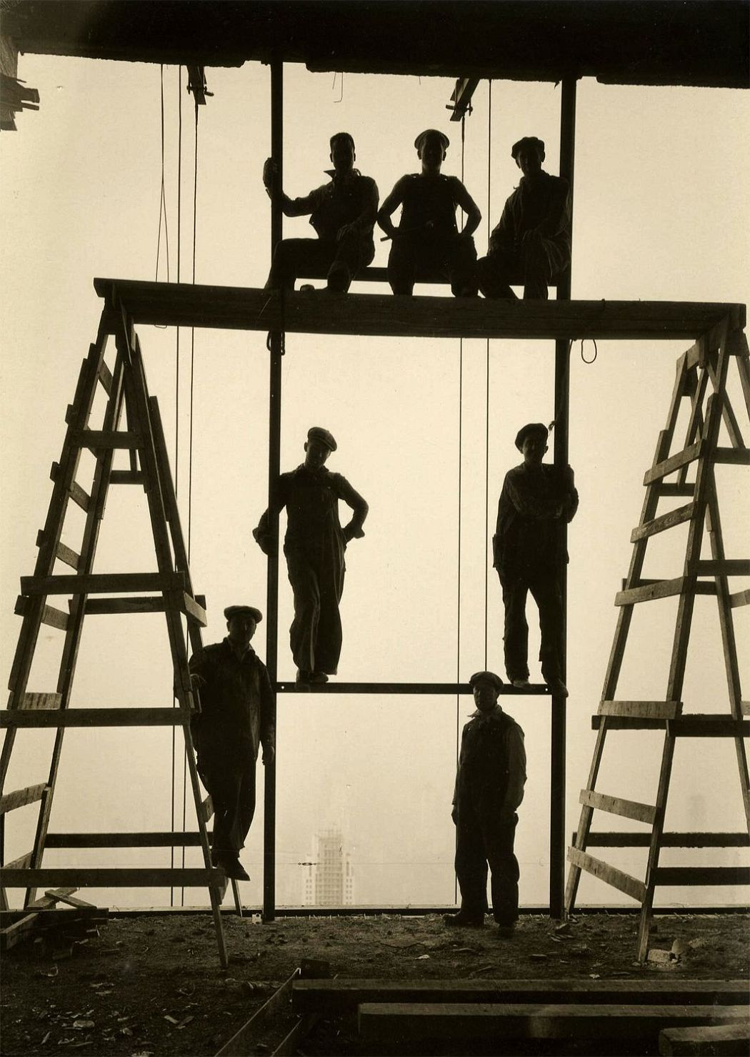 Construction Workers atop Rockefeller Center
