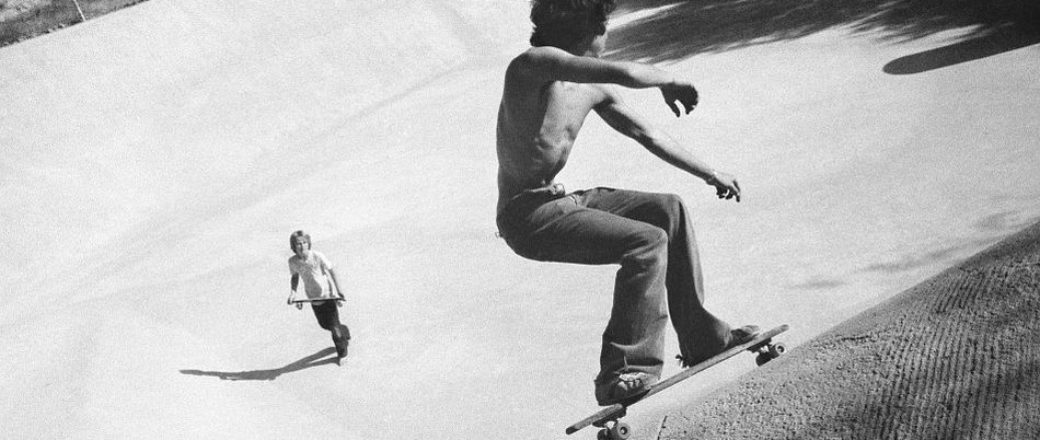 Hugh Holland: Silver. Skate. Seventies.