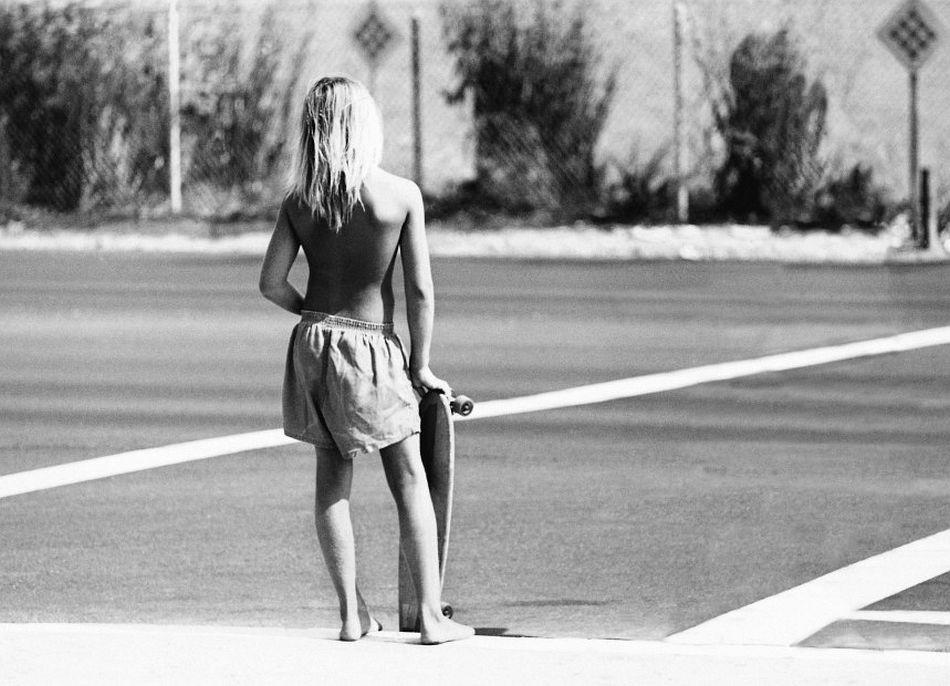 Hugh Holland Skater Crossing, CA, 1975