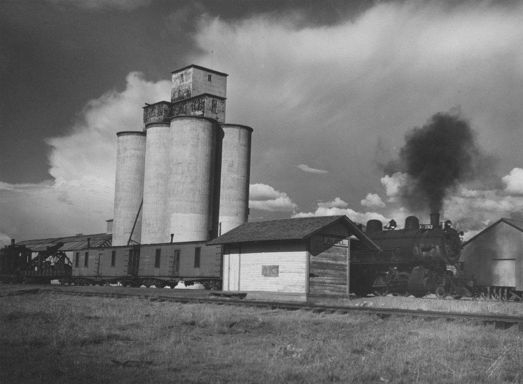 Minor White, Town of Alicel, Grande Ronde Valley, Oregon, 1941