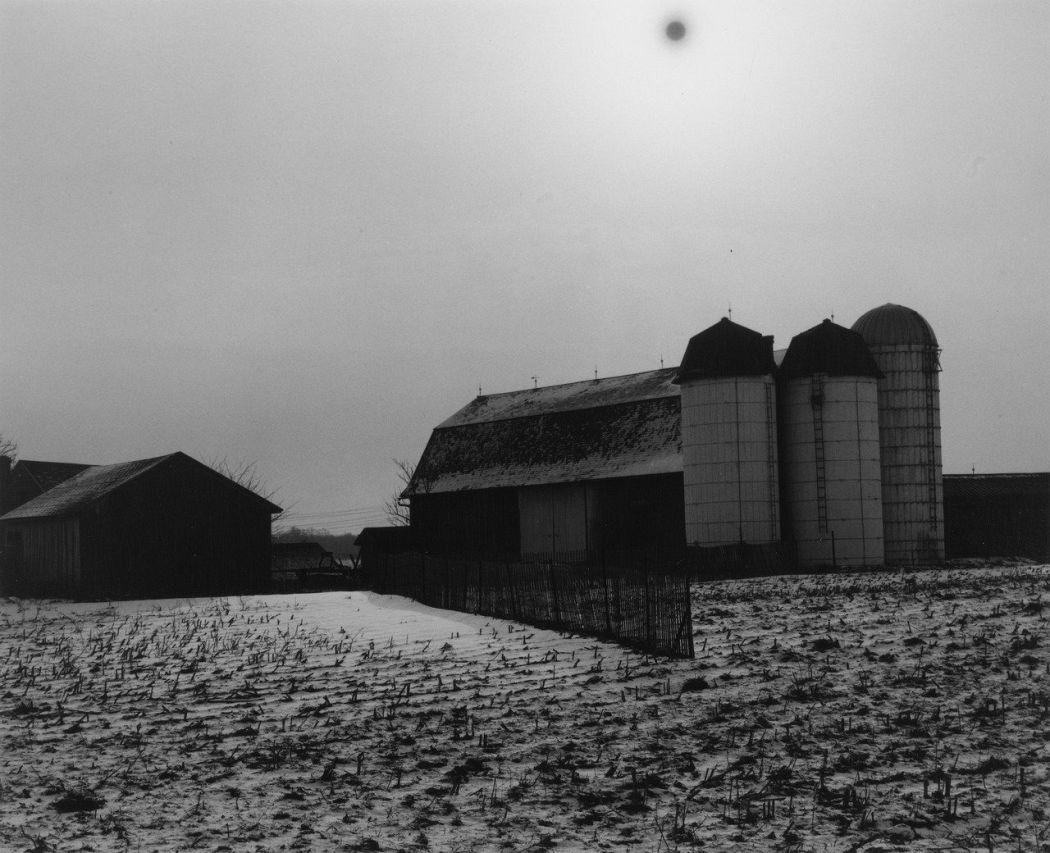 Minor White, Black Sun, 1955