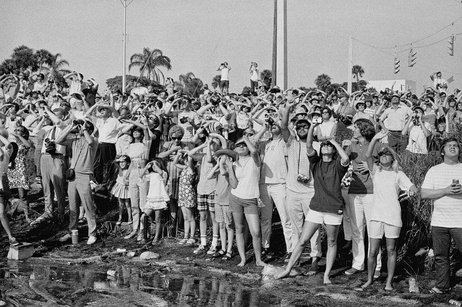 Apollo XI launch, Cape Kennedy, FL, July 16th, 1969