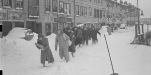 Vintage: Boston during the Winter (1910s and 1920s)