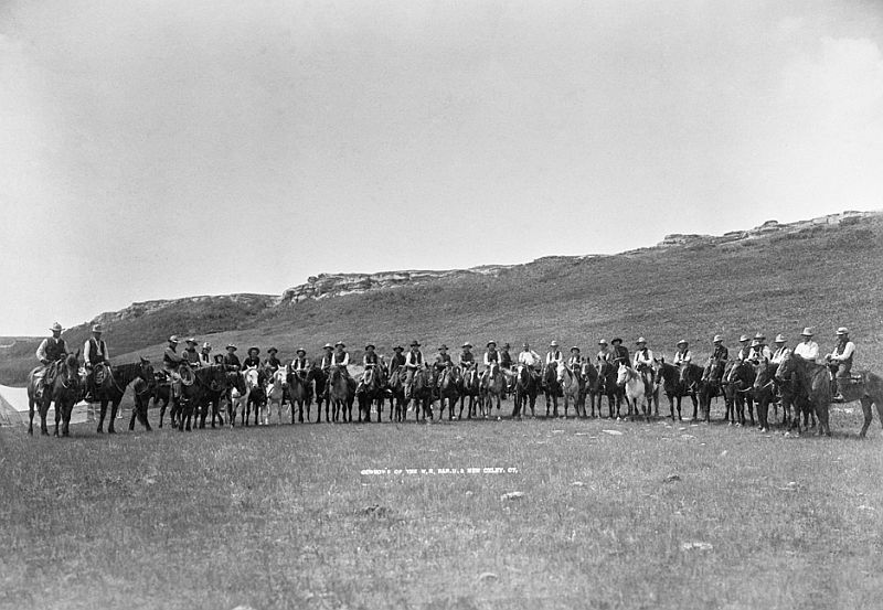 Riders of southern Alberta round-up, 1901