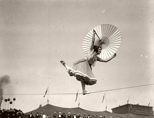 Vintage: Daily Life of Ringling Bros. Circus (1910s)